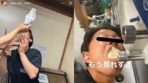 "<span class=""title"">大分県の焼き肉屋で店員がソフトクリームを機械から直接口に入れるバイトテロ動画を公開!キモすぎて炎上し運営元がバイトを解雇</span>"
