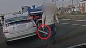 横浜市旭区・環状2号でプリウスがあおり運転繰り返しハンマー持ち出す!男が暴言吐きながらクルマを襲う事件