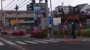 """<span class=""""title"""">愛知県警が名古屋で歩行者妨害取締り!歩行者が警察官でおとり捜査だと話題に</span>"""