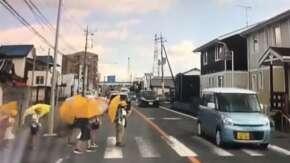 """<span class=""""title"""">茨城県小山氏で小学生が横断歩道を渡りかけているのに無視して突っ込む車たちが炎上</span>"""